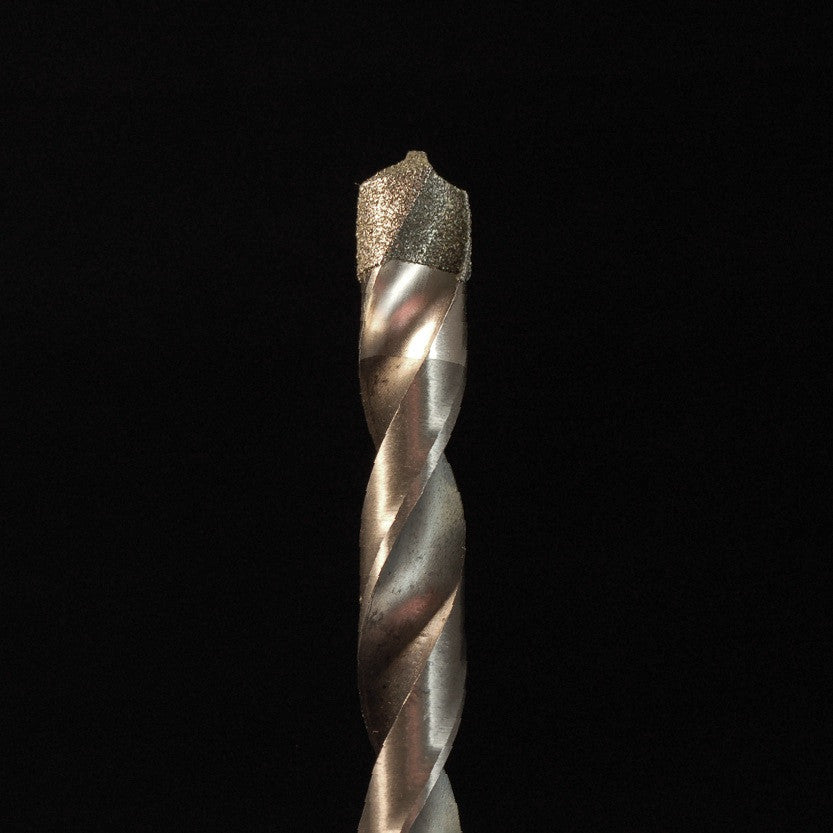 "A&M Instruments Industrial  Diamond 1/4"" Twist Drill - 14twistdrill - A & M Instruments Quality Diamond Tools"
