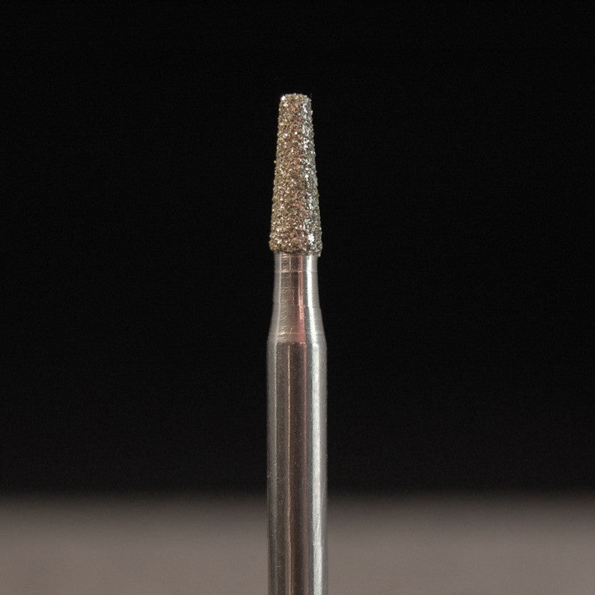 "A&M Instruments Industrial Diamond 0.125"" Flat End Taper - 4488-0125 - A & M Instruments Quality Diamond Tools"