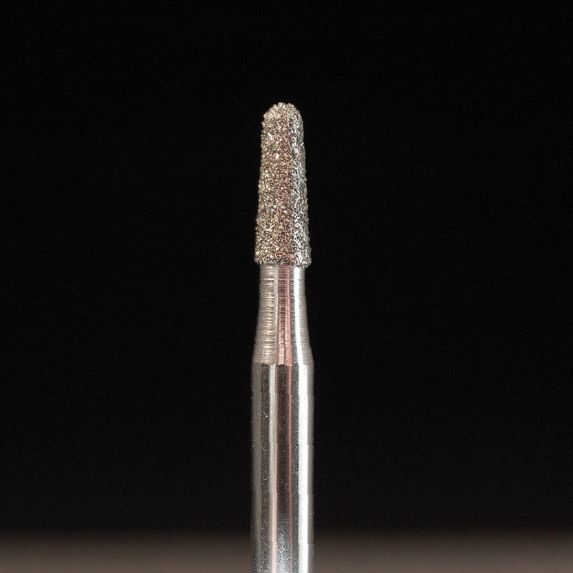 "A&M Instruments Industrial  Diamond 0.11"" Round End Taper - 4508-0110 - A & M Instruments Quality Diamond Tools"