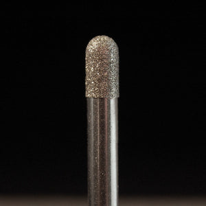 "A&M Instruments Industrial Diamond 0.187"" Round End Cylinder - 4813-0187 - A & M Instruments Quality Diamond Tools"