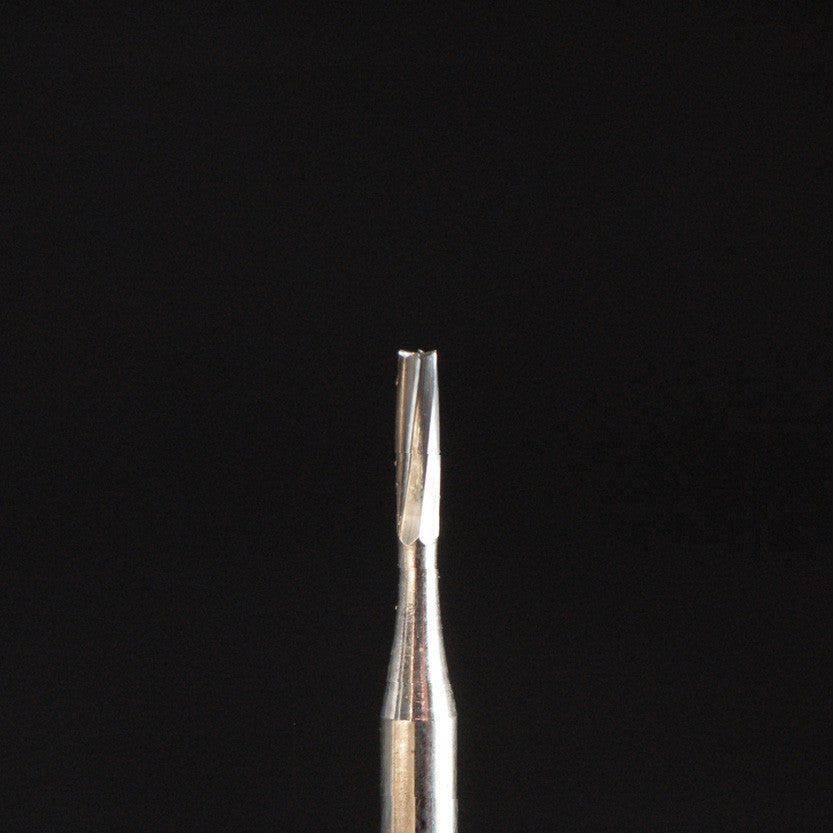A&M Instruments FG Carbide Dental Bur 0.8mm Straight Fissure Flat End - FGCAR56 - A & M Instruments Quality Diamond Tools