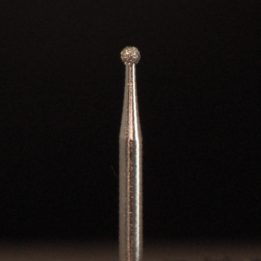 A&M Instruments Single Patient Use FG Diamond Dental Bur 1.2mm Round Ball - A1 - A & M Instruments Quality Diamond Tools