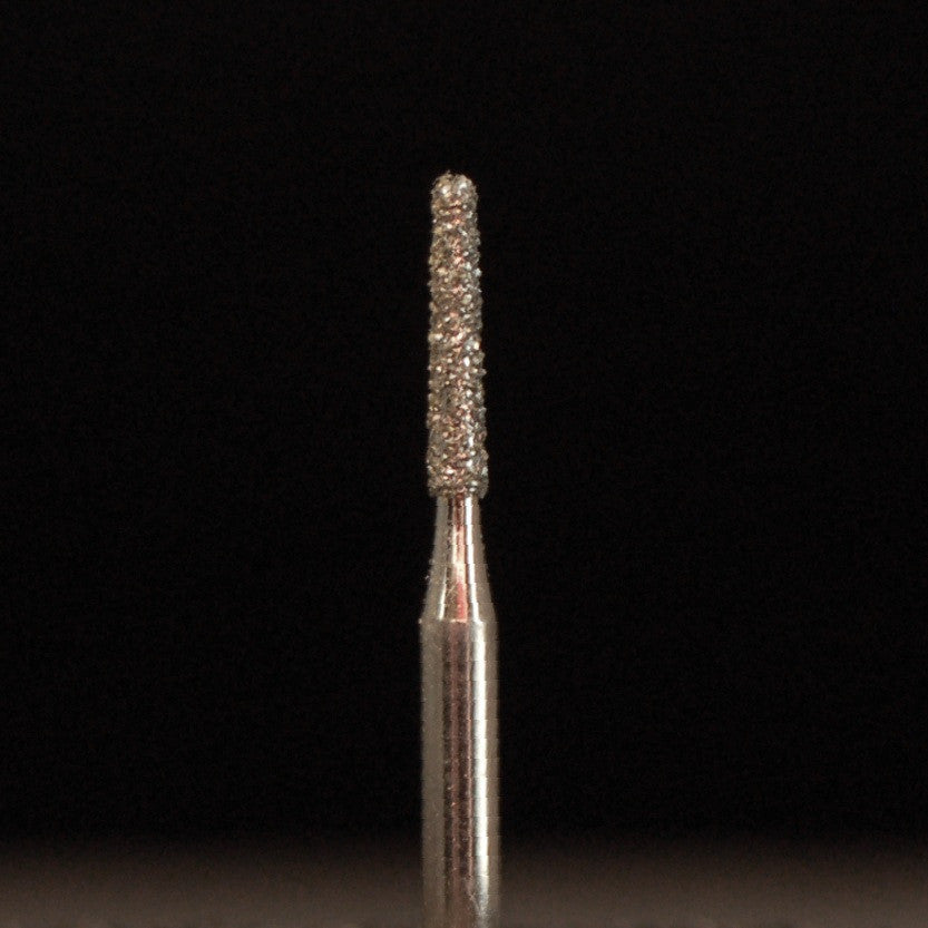 A&M Instruments Multi-Use FG Diamond Dental Bur 1.2mm Round End Taper - C1 - A & M Instruments Quality Diamond Tools