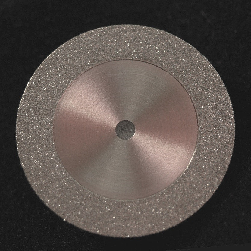 A&M Instruments Unmounted Diamond Disc 19mm Double-Sided - DISC100190 - A & M Instruments Quality Diamond Tools