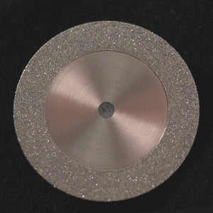 "A&M Instruments Unmounted Industrial Diamond Disc 0.74"" (19mm) Double-Sided - DISC100190 - A & M Instruments Quality Diamond Tools"