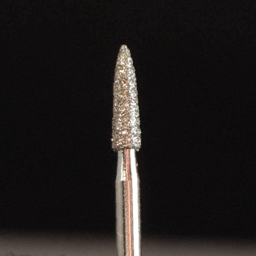 A&M Instruments Multi-Use FG Diamond Dental Bur 1.8mm Short Flame - E11 - A & M Instruments Quality Diamond Tools
