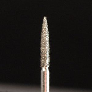 A&M Instruments Multi-Use FG Diamond Dental Bur 1.6mm Flame - E57 - A & M Instruments Quality Diamond Tools