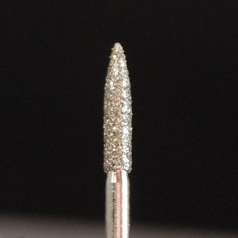 A&M Instruments Multi-Use FG Diamond Dental Bur 1.8mm Flame - E58 - A & M Instruments Quality Diamond Tools