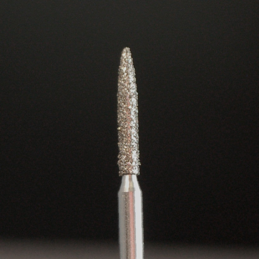 A&M Instruments Single Patient Use FG Diamond Dental Bur 1.3mm Flame - E5 - A & M Instruments Quality Diamond Tools