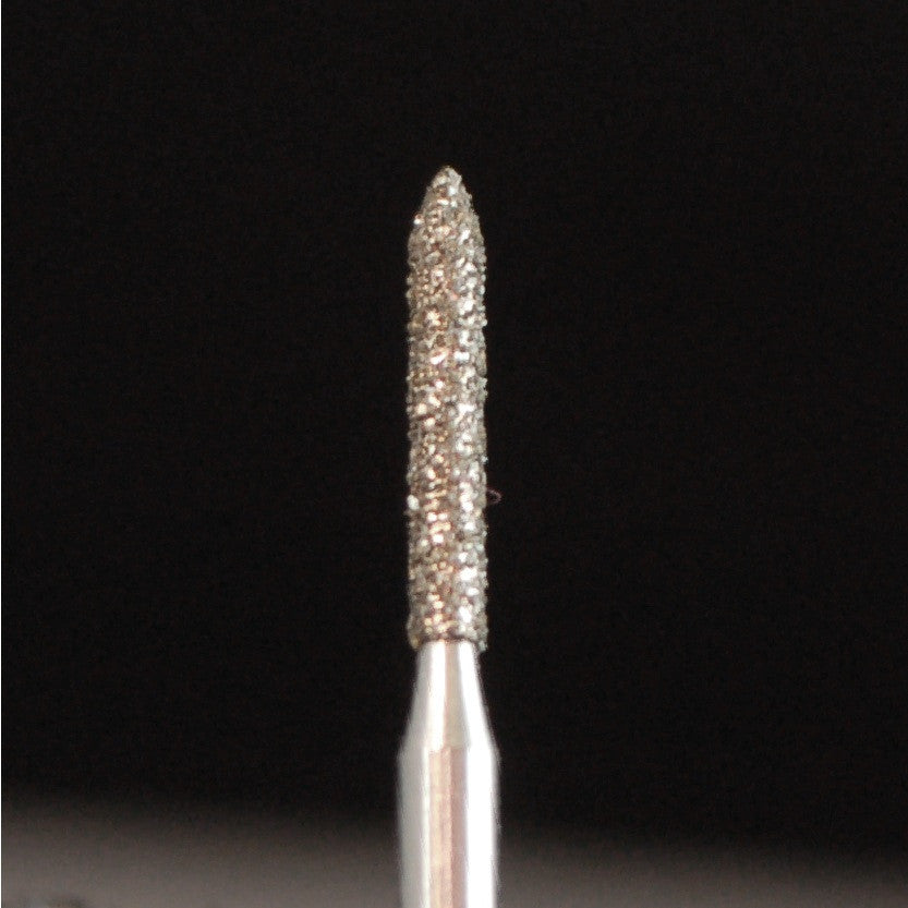 A&M Instruments Single Patient Use FG Diamond Dental Bur 1.2mm Pointed Cylinder - E7 - A & M Instruments Quality Diamond Tools