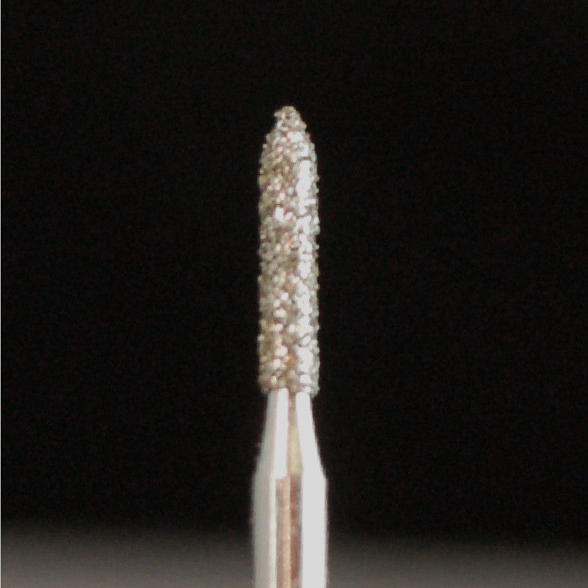 A&M Instruments Single Patient Use FG Diamond Dental Bur 1.2mm Pointed Cylinder - E7S - A & M Instruments Quality Diamond Tools