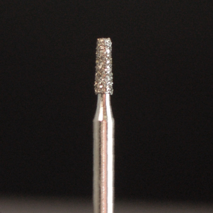 A&M Instruments Single Patient Use FG Diamond Dental Bur 1.4mm Short Flat End Taper - F14 - A & M Instruments Quality Diamond Tools