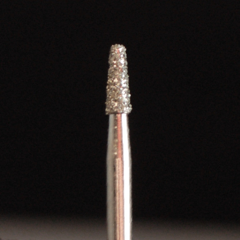 A&M Instruments Single Patient Use FG Diamond Dental Bur 1.6mm Extra Short Flat End Taper - F16 - A & M Instruments Quality Diamond Tools