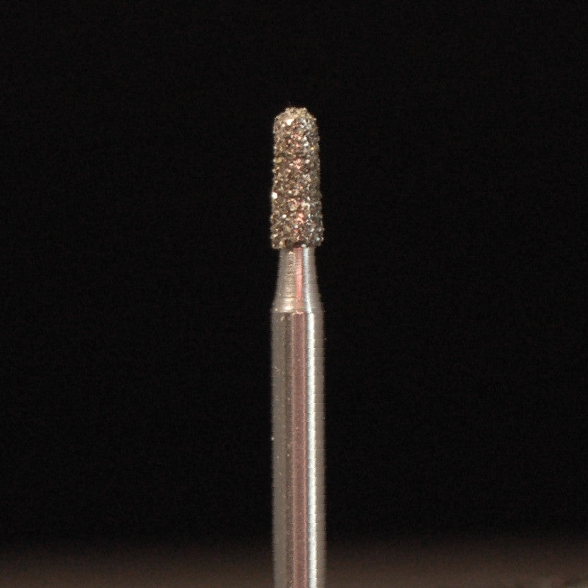A&M Instruments Single Patient Use FG Diamond Dental Bur 1.6mm Short Round End Taper - F16R - A & M Instruments Quality Diamond Tools