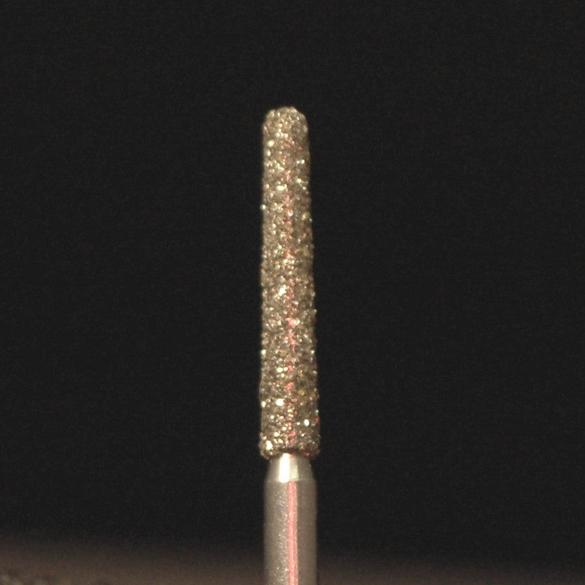 A&M Instruments Multi-Use FG Diamond Dental Bur 1.6mm Long Round End Taper - F2R - A & M Instruments Quality Diamond Tools