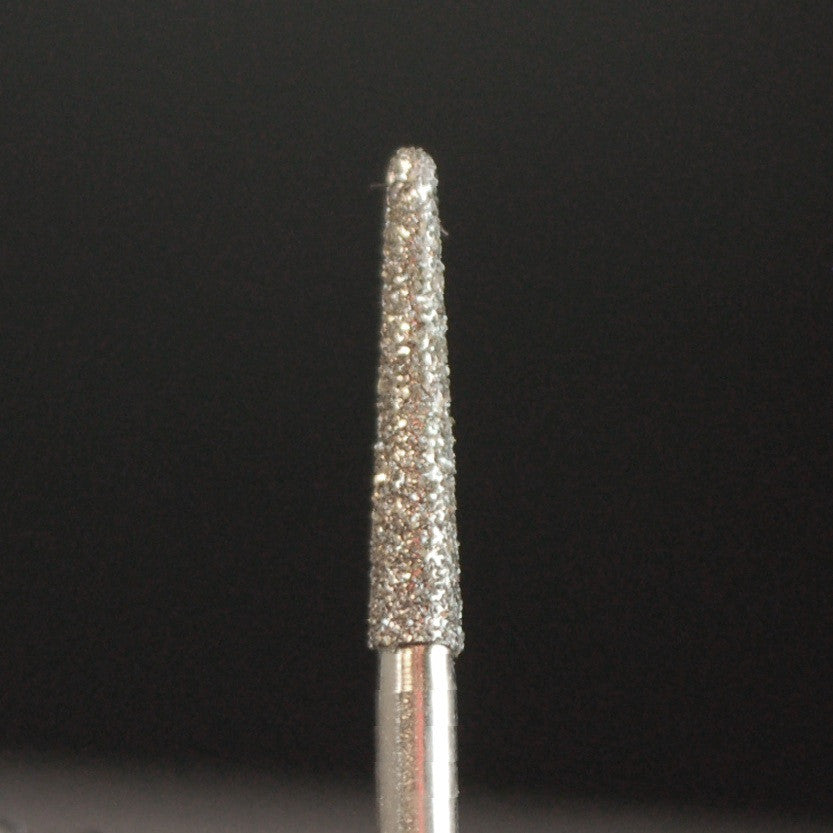 A&M Instruments Single Patient Use FG Diamond Dental Bur 1.9mm Round End Taper - F6R - A & M Instruments Quality Diamond Tools