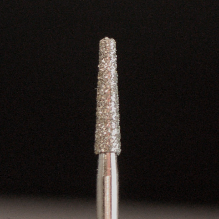 A&M Instruments Single Patient Use FG Diamond Dental Bur 1.8mm Flat End Taper - H18 - A & M Instruments Quality Diamond Tools