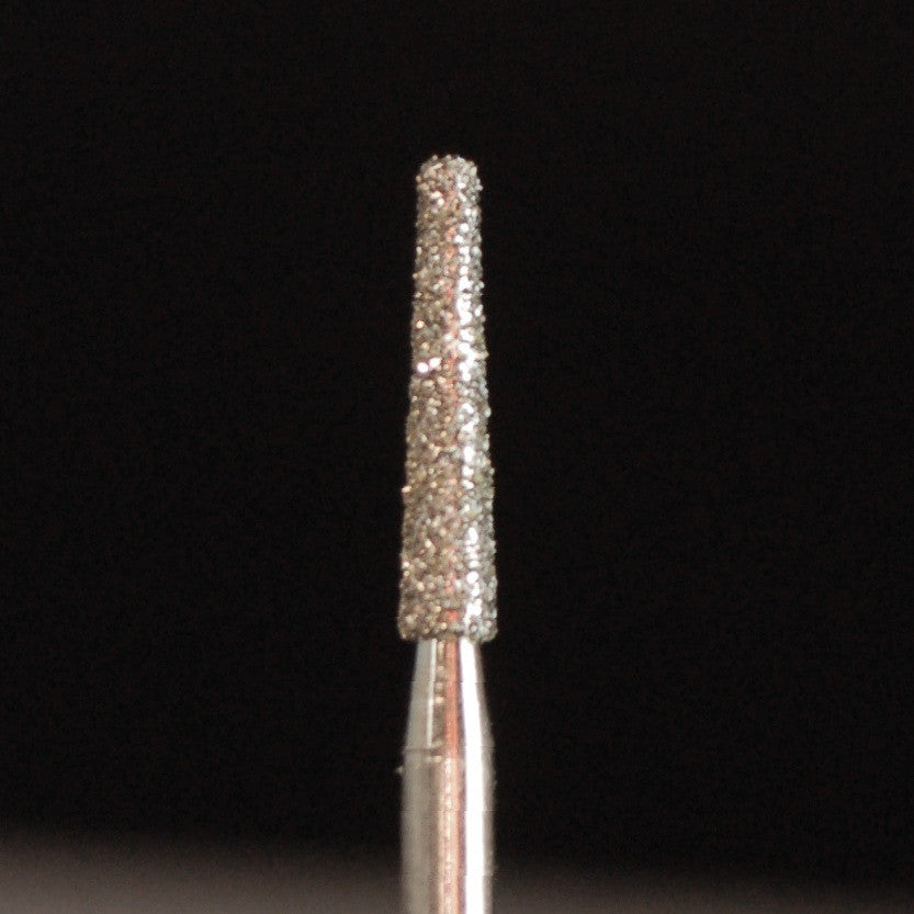 A&M Instruments Single Patient Use FG Diamond Dental Bur 1.6mm Flat End Taper - H1 - A & M Instruments Quality Diamond Tools