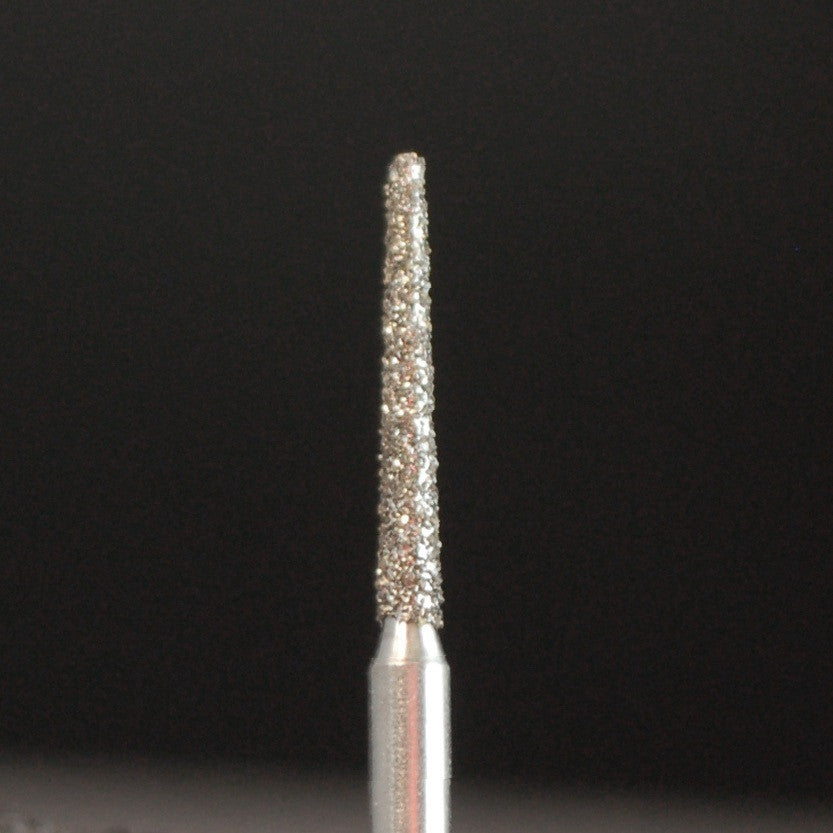A&M Instruments Single Patient Use FG Diamond Dental Bur 1.2mm Long Flat End Taper - H3 - A & M Instruments Quality Diamond Tools