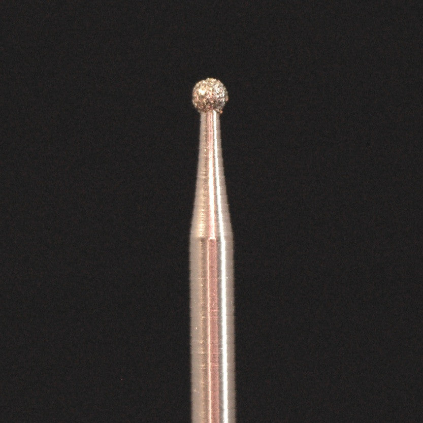 A&M Instruments HP Laboratory Diamond Dental Bur 1.9mm Ball - HP801-019 - A & M Instruments Quality Diamond Tools