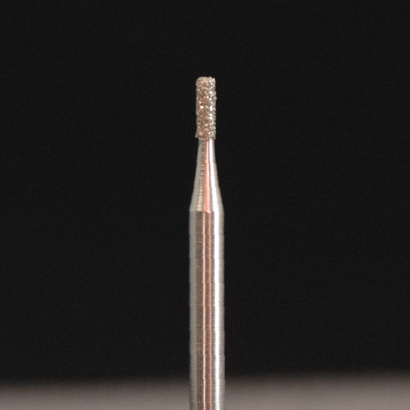 A&M Instruments HP Laboratory Diamond Dental Bur 1mm Flat End Cylinder - HP835-010 - A & M Instruments Quality Diamond Tools