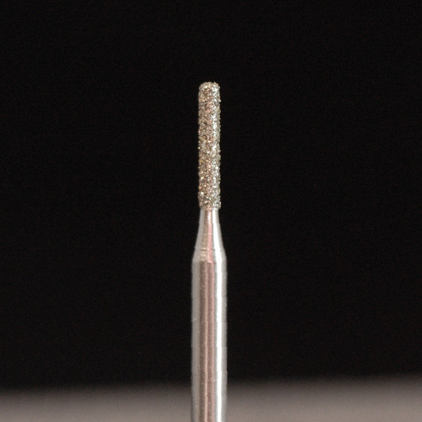 A&M Instruments HP Laboratory Diamond Dental Bur 1.4mm Long Flat End Cylinder - HP837-014 - A & M Instruments Quality Diamond Tools