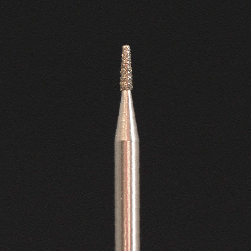 A&M Instruments HP Laboratory Diamond Dental Bur 1.2mm Flat End Taper - HP845-012 - A & M Instruments Quality Diamond Tools