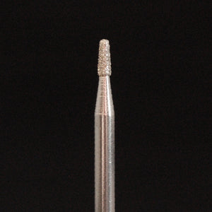 "A&M Instruments Industrial Diamond 1.6mm (0.063"") Flat End Taper - HP845-016 - A & M Instruments Quality Diamond Tools"