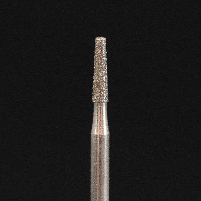 A&M Instruments HP Laboratory Diamond Dental Bur 1.8mm Long Flat End Taper - HP847-018 - A & M Instruments Quality Diamond Tools