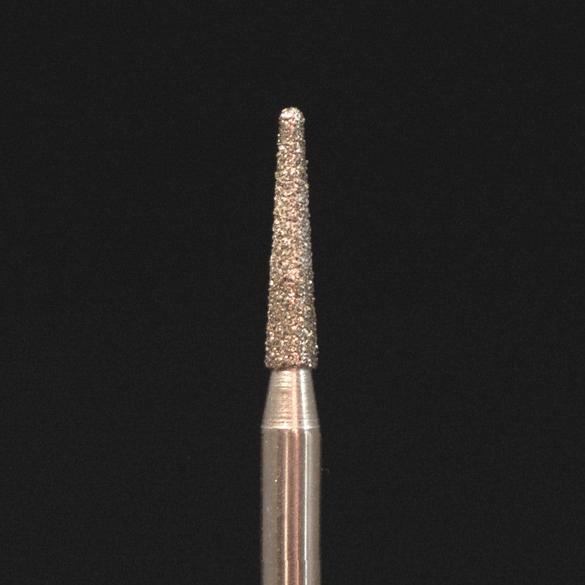 A&M Instruments HP Laboratory Diamond Dental Bur 2.1mm Long Flat End Taper - HP848-021 - A & M Instruments Quality Diamond Tools