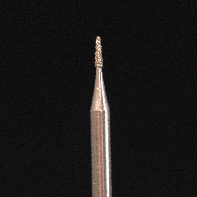 A&M Instruments HP Laboratory Diamond Dental Bur 1mm Round End Taper - HP849-010 - A & M Instruments Quality Diamond Tools