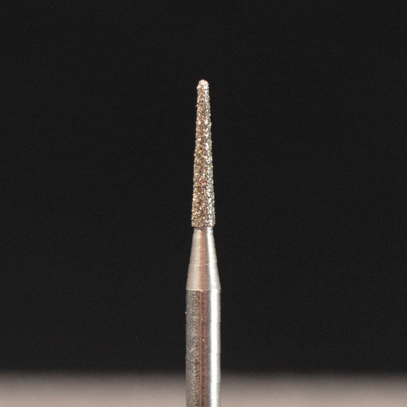 A&M Instruments HP Laboratory Diamond Dental Bur 1.6mm Round End Taper - HP850-016 - A & M Instruments Quality Diamond Tools