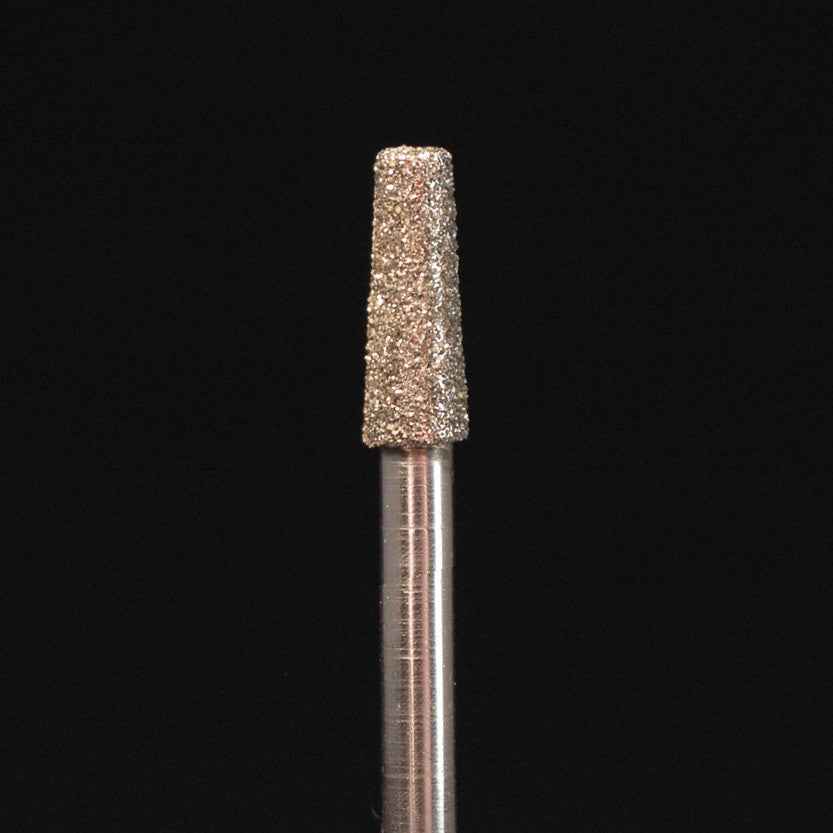 A&M Instruments HP Laboratory Diamond Dental Bur 3.3mm Flat End Taper - HP854-033 - A & M Instruments Quality Diamond Tools