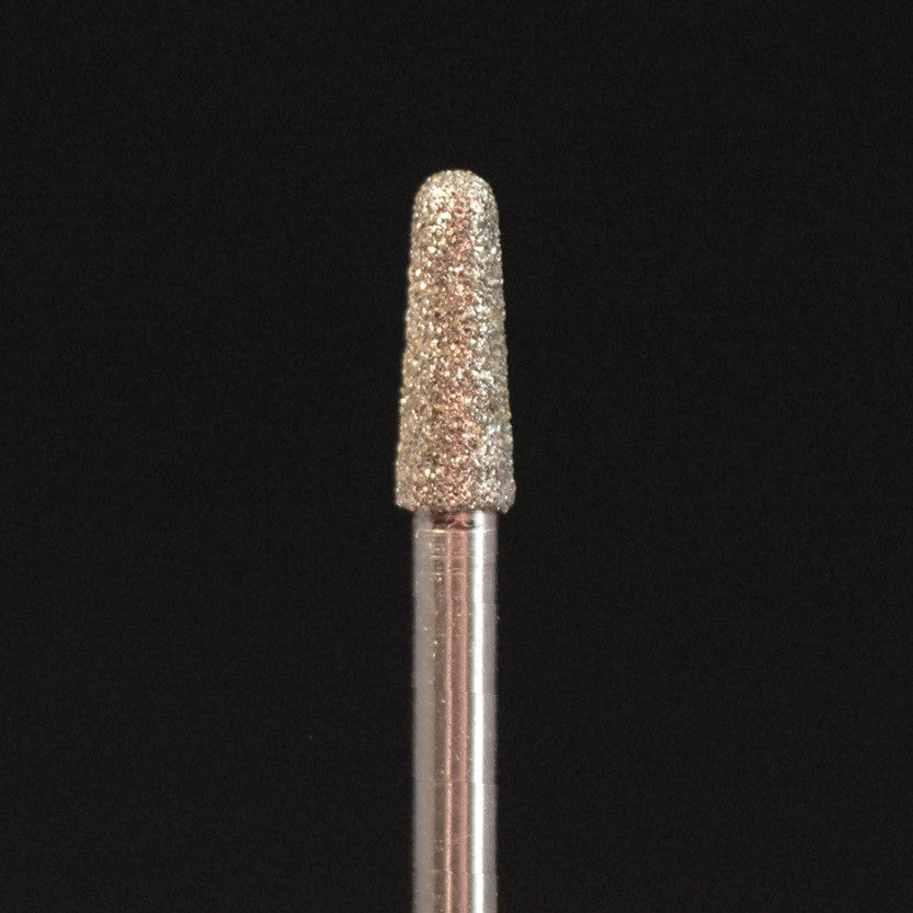 "A&M Instruments Industrial Diamond 0.130"" Round End Taper - HP856-033 - A & M Instruments Quality Diamond Tools"