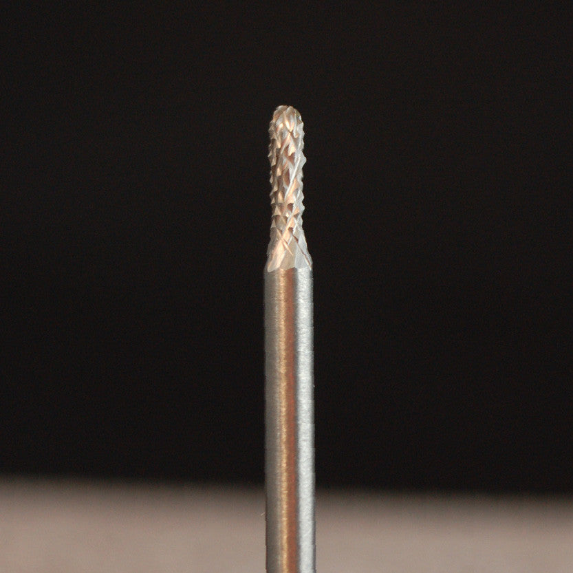 "A&M Instruments Industrial Carbide Bur 0.071"" Round End Cylinder - HPC100 - A & M Instruments Quality Diamond Tools"