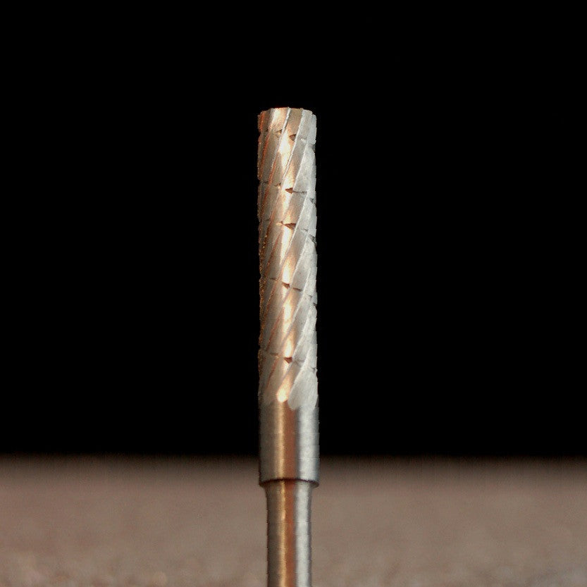 "A&M Instruments Industrial Carbide Bur 0.125"" Flat End Cylinder - HPC1100 - A & M Instruments Quality Diamond Tools"