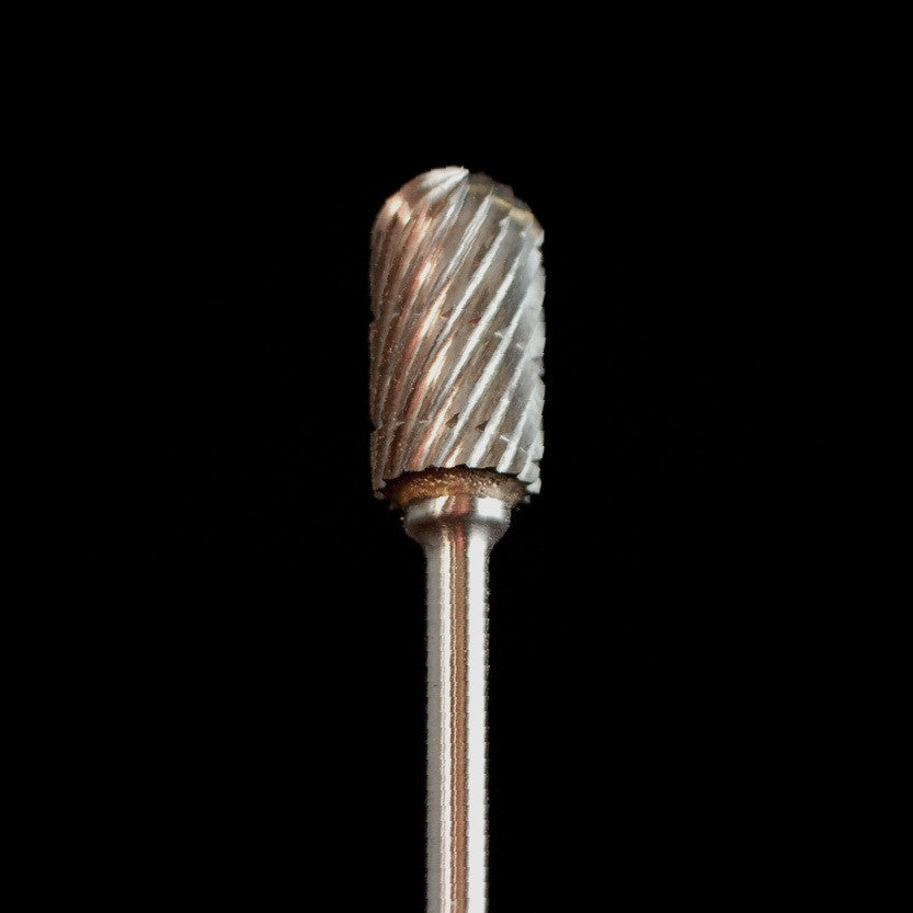 "A&M Instruments Industrial Carbide Bur 0.260"" Round End Cylinder - HPC1300 - A & M Instruments Quality Diamond Tools"