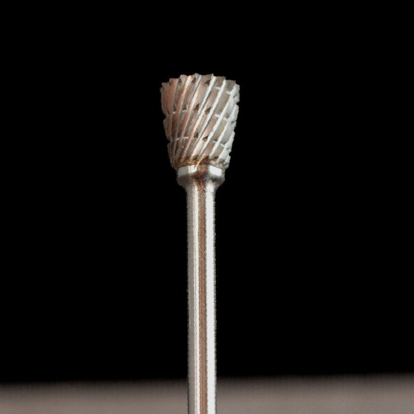 "A&M Instruments Industrial Carbide Bur 0.260"" Inverted Cone - HPC1400 - A & M Instruments Quality Diamond Tools"