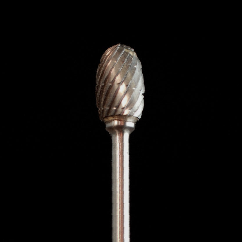 "A&M Instruments Industrial Carbide Bur 0.256"" Egg - HPC1700 - A & M Instruments Quality Diamond Tools"