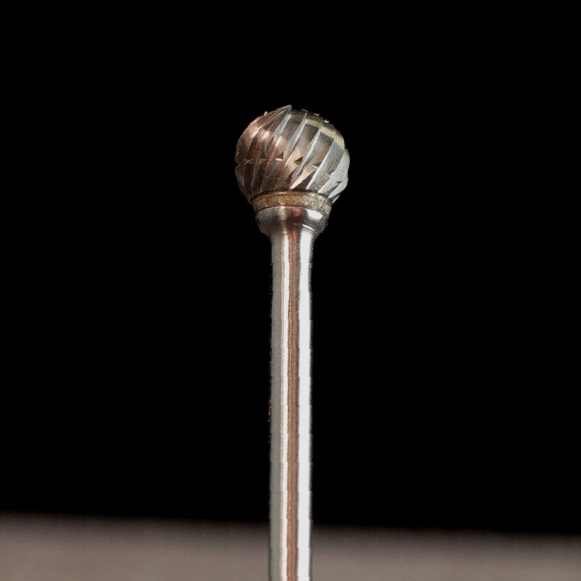 "A&M Instruments Industrial Carbide Bur 0.252"" Ball - HPC1800 - A & M Instruments Quality Diamond Tools"