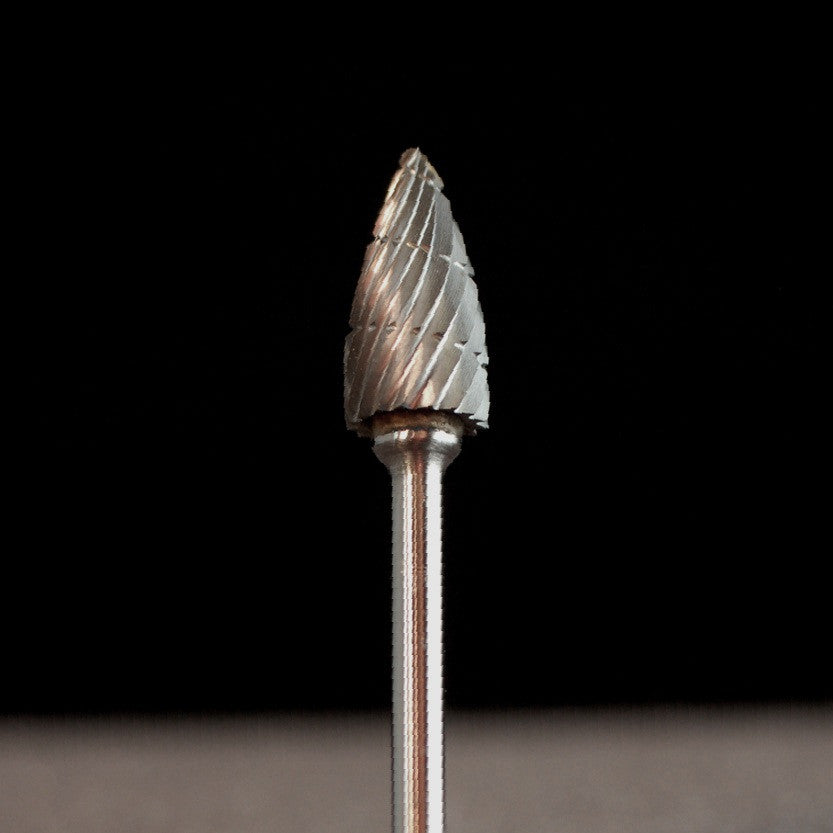 "A&M Instruments Industrial Carbide Bur 0.256"" Flame - HPC2200 - A & M Instruments Quality Diamond Tools"