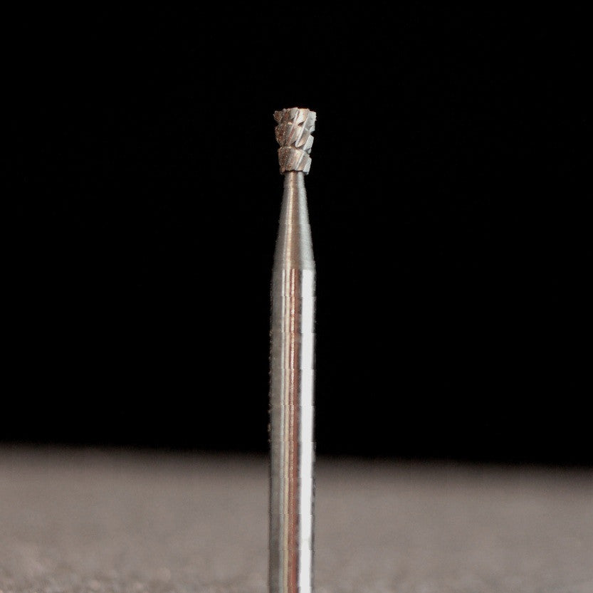"A&M Instruments Industrial Carbide Bur 0.087"" Long Inverted Cone - HPC700 - A & M Instruments Quality Diamond Tools"