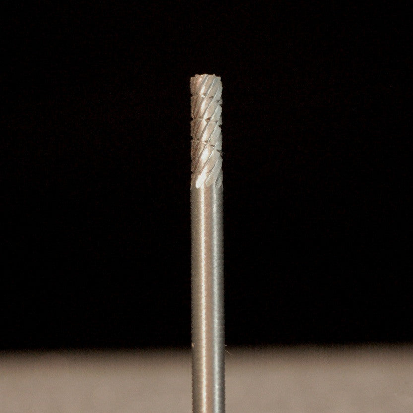 A&M Instruments HP Carbide Bur 2.3mm Flat End Cylinder - HPC800 - A & M Instruments Quality Diamond Tools