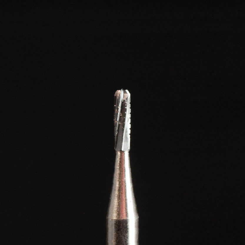 A&M Instruments HP Carbide Bur 1.200mm Crosscut Fissure Straight-Founded Head - HPC1558 - A & M Instruments Quality Diamond Tools