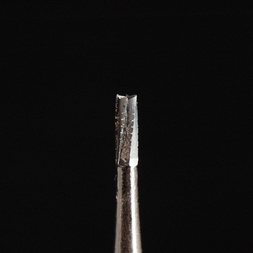 A&M Instruments HP Carbide Bur 1.6mm Straight Flat Cylinder - HPC560 - A & M Instruments Quality Diamond Tools