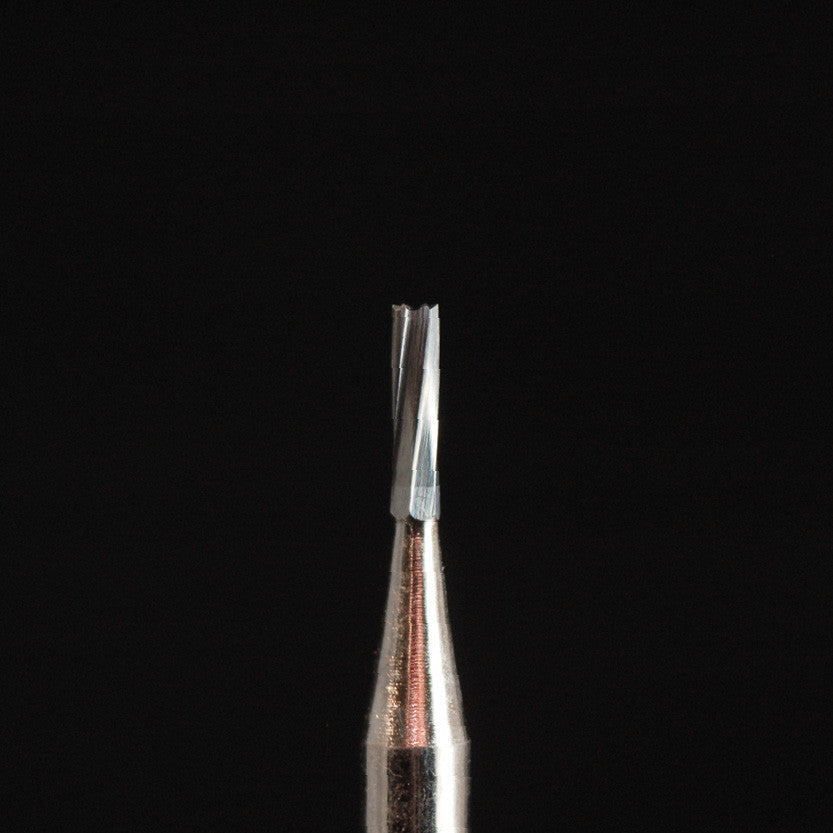 A&M Instruments HP Carbide Bur 1.0mm Straight Flat Cylinder - HPC57 - A & M Instruments Quality Diamond Tools