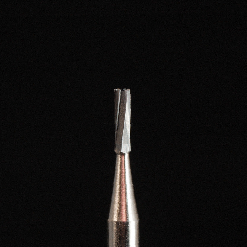 A&M Instruments HP Carbide Bur 1.2mm Straight Fissure Crosscut - HPC58 - A & M Instruments Quality Diamond Tools