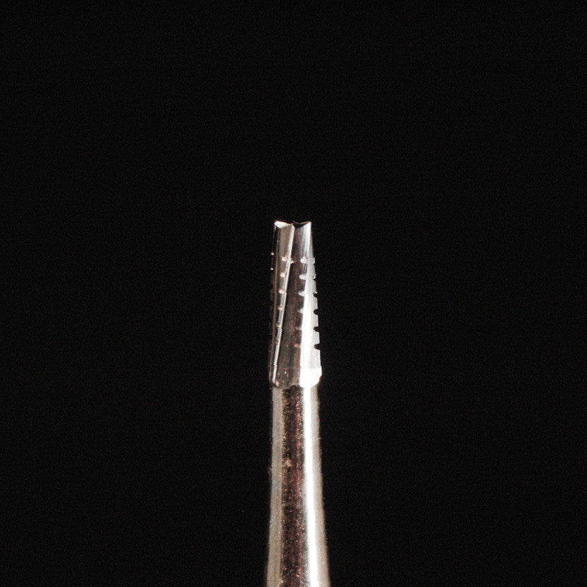 A&M Instruments HP Carbide Bur 1.6mm Crosscut Fissure Taper - HPC702 - A & M Instruments Quality Diamond Tools