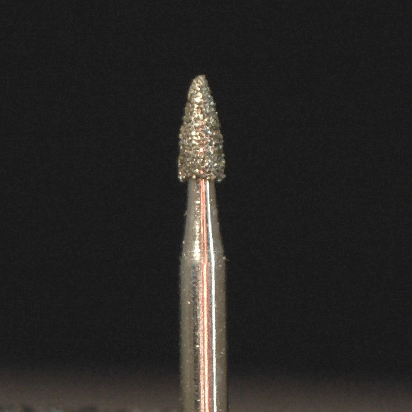A&M Instruments Multi-Use FG Diamond Dental Bur 1.6mm Short Flame - K4 - A & M Instruments Quality Diamond Tools