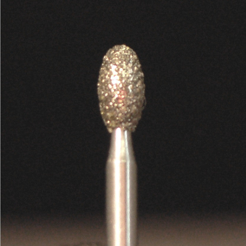 A&M Instruments Multi-Use FG Diamond Dental Bur 2.3mm Egg - K8 - A & M Instruments Quality Diamond Tools
